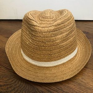 Accessories - Tan straw fedora